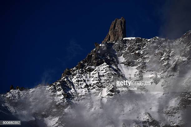 General view during the 25th Courmayeur Noir In Festival on December 10 2015 in Courmayeur Italy
