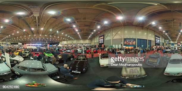 A general view during the 25th edition of InterClassics Maastricht held at MECC Halls on January 12 2018 in Maastricht Netherlands Exhibitors and...