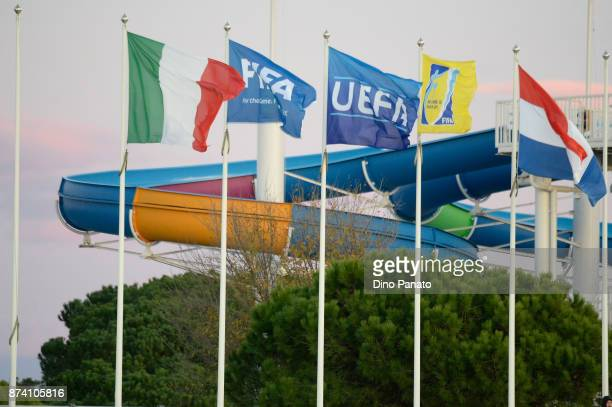 A general view during the 8 Nations Tournament match between Italy U20 and Netherlands U20 on November 14 2017 in Lignano Sabbiadoro Italy