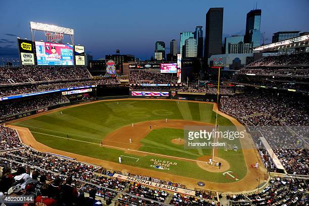 General view during the 85th MLB All-Star Game at Target Field on July 15, 2014 in Minneapolis, Minnesota.