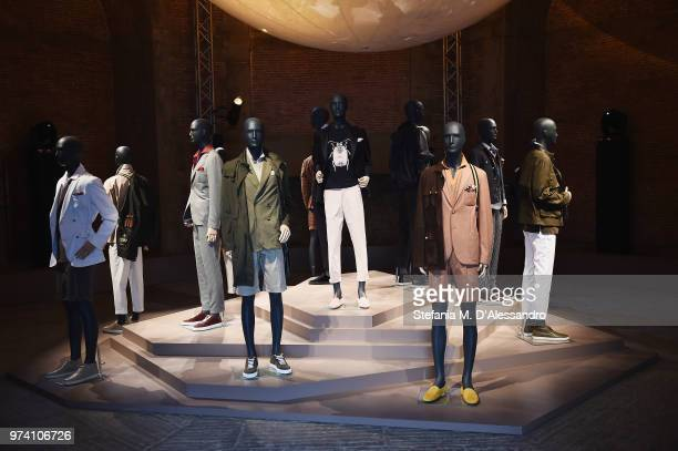 A general view during the 94th Pitti Immagine Uomo at Fortezza Da Basso on June 13 2018 in Florence Italy