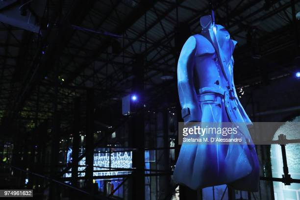 A general view during the 94th Pitti Immagine Uomo at Fortezza Da Basso on June 14 2018 in Florence Italy