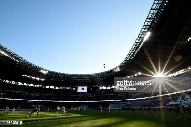 General view during the 99th Emperor's Cup final between Vissel Kobe and Kashima Antlers at the National Stadium on January 01, 2020 in Tokyo, Japan.