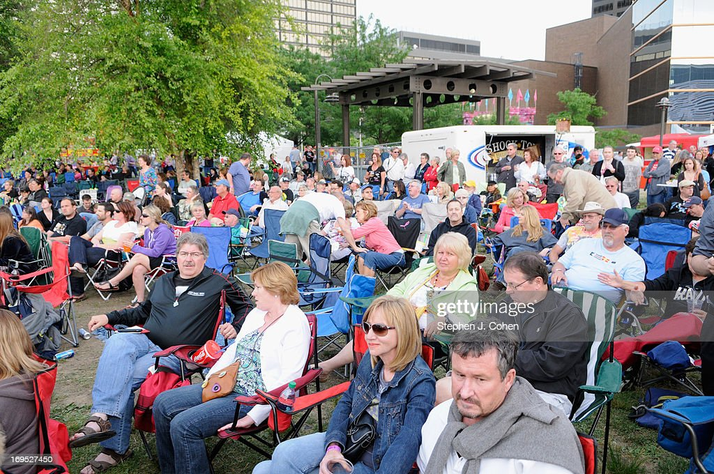 A general view during the Abbey Road on the River Music Festival at The Belvedere on May 25, 2013 in Louisville, Kentucky.