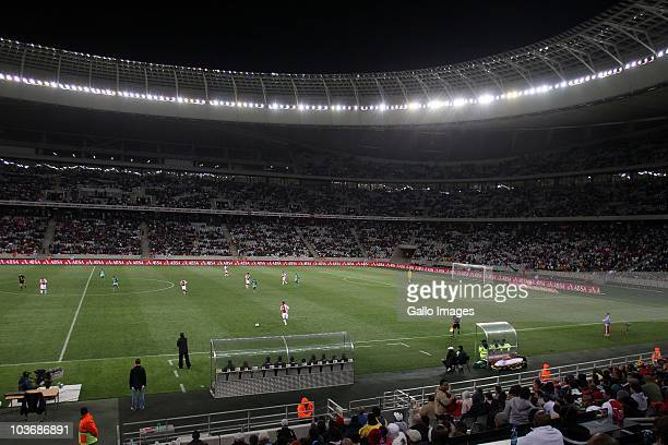 General view during the Absa Premiership match between Ajax Cape Town and Blomfontein Celtic at Cape Town Stadium on August 27: 2010 in Cape Town,...