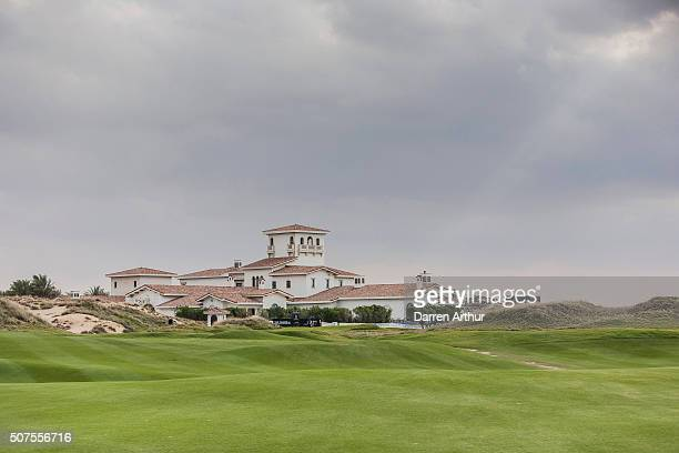 General view during the Abu Dhabi Invitational at Yas Links Golf Course on January 30 2016 in Abu Dhabi United Arab Emirates