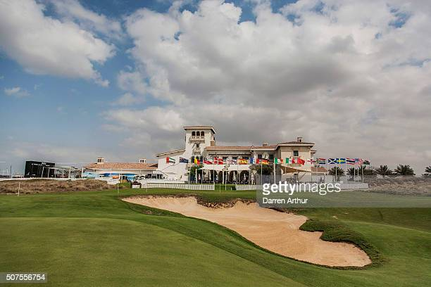 General view during the Abu Dhabi Invitational at Yas Links Golf Course on January 30, 2016 in Abu Dhabi, United Arab Emirates.