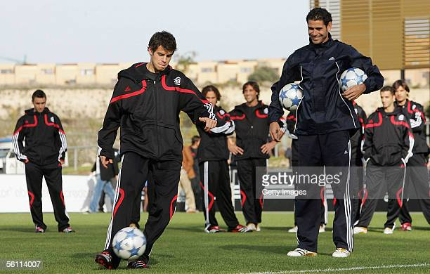 General view during the Adidas press launch of the new Predator Football boot on November 7 2005 in Las Rozas Madrid
