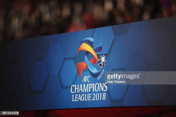 A general view during the AFC Champions League Group H match between Kashima Antlers and Sydney FC at Kashima Soccer Stadium on March 13 2018 in...
