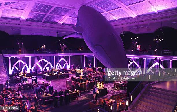 A general view during the after party for the premiere of 'Harry Potter and the Deathly Hallows Part 2' at American Museum of Natural History on July...