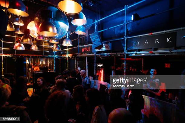 General view during the after party to the premiere of the first German Netflix series 'Dark' on November 20 2017 in Berlin Germany