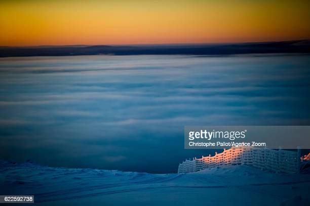 A general view during the Audi FIS Alpine Ski World Cup Women's Slalom on November 12 2016 in Levi Finland