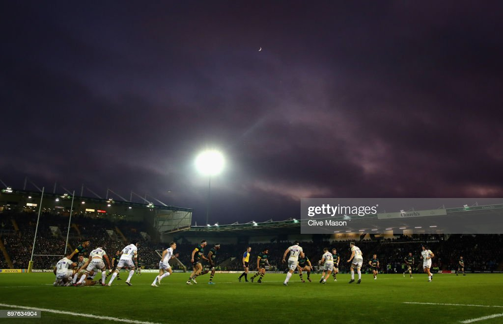 Northampton Saints v Exeter Chiefs - Aviva Premiership : News Photo