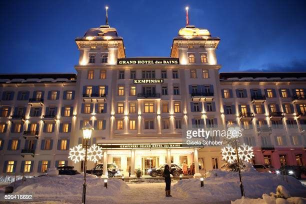 A general view during the Award Gala benefiting 'Planet Hope' foundation at Kempinski Grand Hotel des Bains on December 28 2017 in St Moritz...