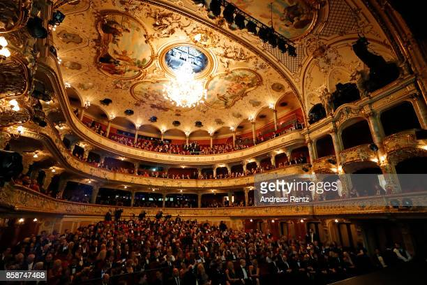A general view during the Award Night Ceremony during the 13th Zurich Film Festival on October 7 2017 in Zurich Switzerland The Zurich Film Festival...
