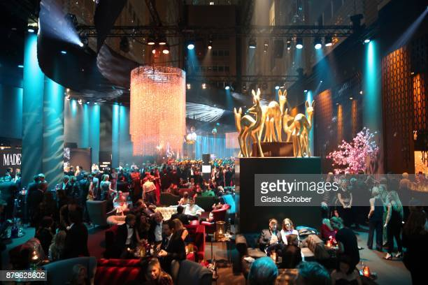 General view during the Bambi Awards 2017 after party at Atrium Tower, Stage Theater on November 16, 2017 in Berlin, Germany.