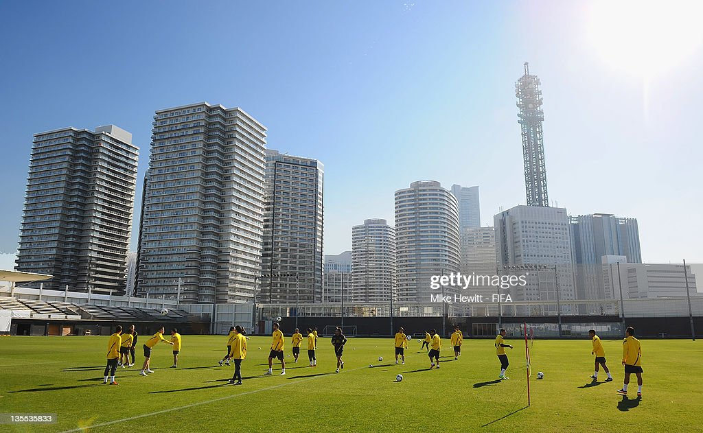 A general view during the Barcelona training at Marinos Town on December 12, 2011 in Yokohama, Japan.