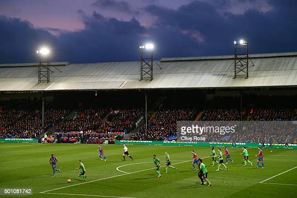 A general view during the Barclays Premier League match between Crystal Palace and Southampton at Selhurst Park on December 12 2015 in London United...