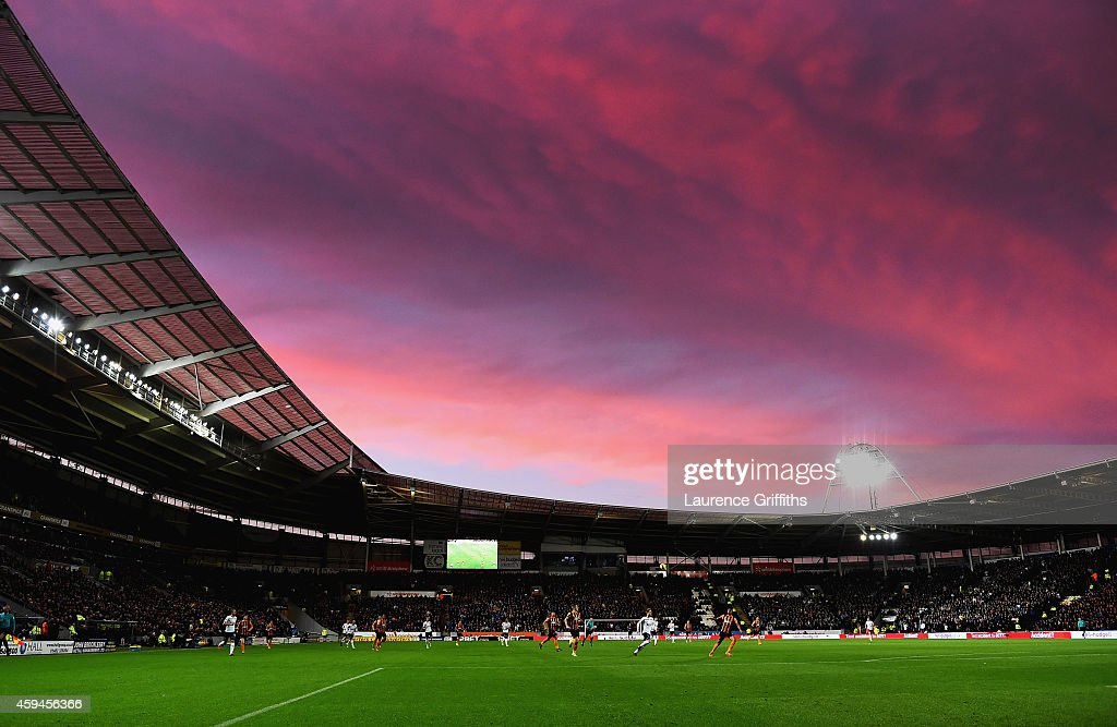 A general view during the Barclays Premier League match between Hull City and Tottenham Hotspur at KC Stadium on November 23, 2014 in Hull, England.