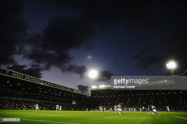 A general view during the Barclays Premier League match between West Bromwich Albion and Manchester City at The Hawthorns on August 10 2015 in West...