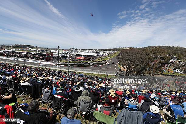 A general view during the Bathurst 1000 which is race 21 of the Supercars Championship at Mount Panorama on October 9 2016 in Bathurst Australia