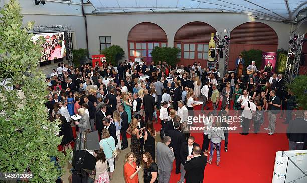 General view during the Bavaria Film reception during the Munich Film Festival 2016 at Kuenstlerhaus am Lenbachplatz on June 28 2016 in Munich Germany