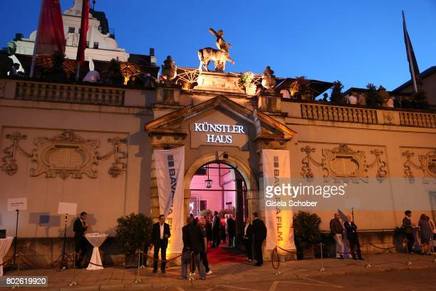 A general view during the Bavaria Film reception during the Munich Film Festival 2017 at Kuenstlerhaus am Lenbachplatz on June 27 2017 in Munich...