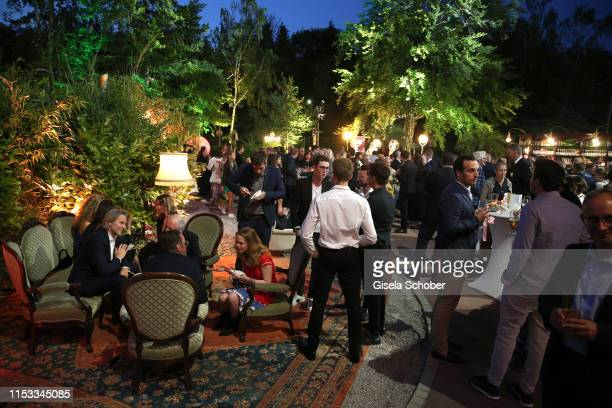 A general view during the Bavaria Film Reception One Hundred Years in Motion on the occasion of the 100th anniversary of the Bavaria Film Studios and...