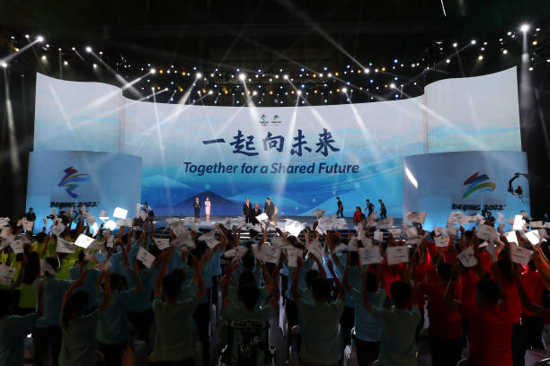 CHN: Beijing 2022 Winter Olympic & Paralympic Games Motto Launch Ceremony