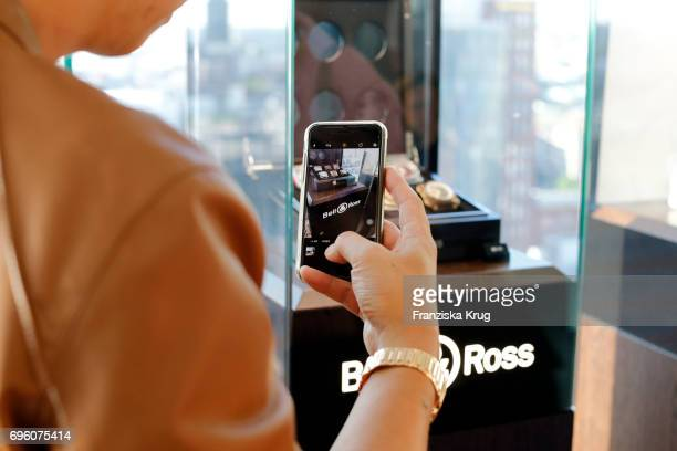General view during the Bell Ross Cocktail Party at Elbphilharmonie show apartment on June 14 2017 in Hamburg Germany