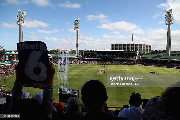A general view during the Big Bash League match between the Perth Scorchers and the Brisbane Heat at WACA on January 5 2017 in Perth Australia