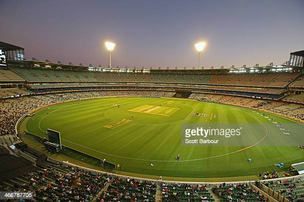 A general view during the Big Bash League Semi Final match between the Melbourne Stars and the Hobart Hurricanes at the Melbourne Cricket Ground on...