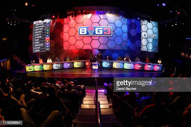 A general view during the BIG3 Draft at the Luxor Hotel Casino on May 01 2019 in Las Vegas Nevada