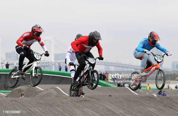 General view during the BMX Tokyo 2020 Test Event at Ariake Urban Sports Park on October 11, 2019 in Tokyo, Japan.
