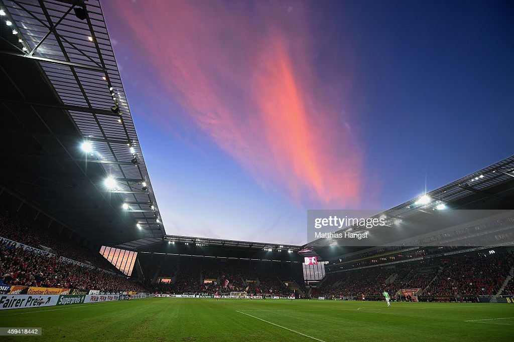 General view during the Bundesliga match between FSV Mainz 05 and SC Freiburg at Coface Arena on November 22, 2014 in Mainz, Germany.