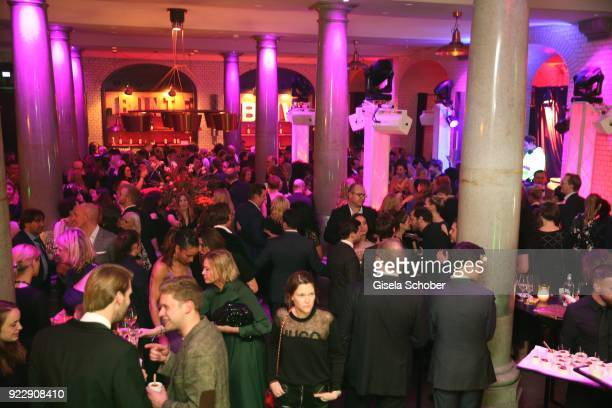 A general view during the BUNTE BMW Festival Night 2018 on the occasion of the 68th Berlinale International Film Festival Berlin at Restaurant...