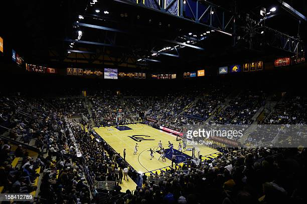 A general view during the California Golden Bears game against the Creighton Bluejays at Haas Pavilion on December 15 2012 in Berkeley California