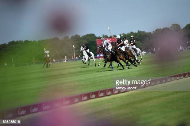 A general view during the Cartier Queen's Cup Polo at Guards Polo Club on June 18 2017 in Egham England 2