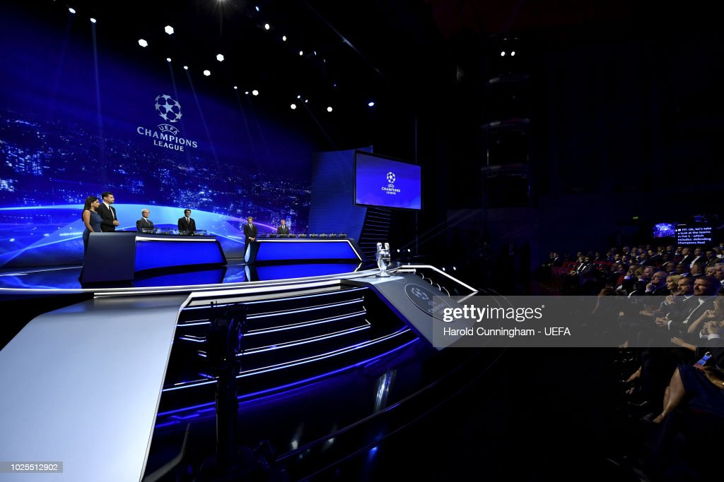 A General View During The Champions League Group Stage Draw Part Of