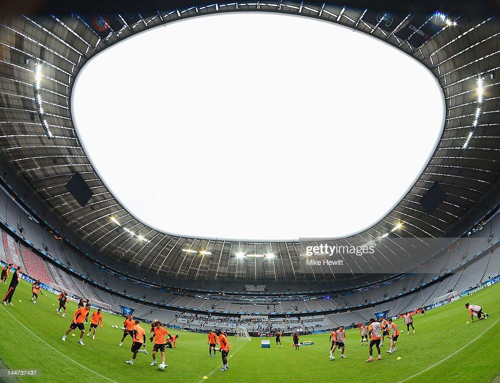 UEFA Champions League Final - Chelsea Training : News Photo