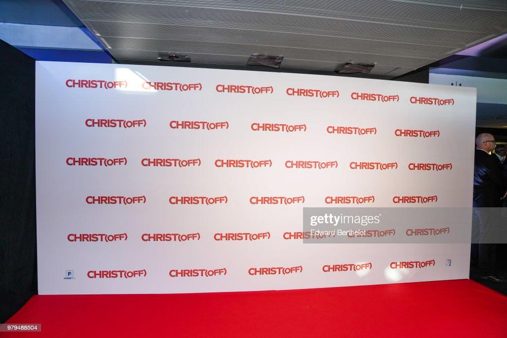 """Christ Paris Premiere At UGC Bercy"