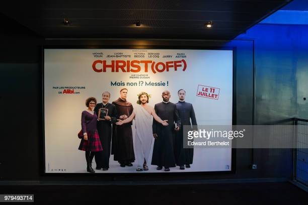 General view during the Christ Paris Premiere photocall at UGC Cine Cite Bercy on June 18 2018 in Paris France