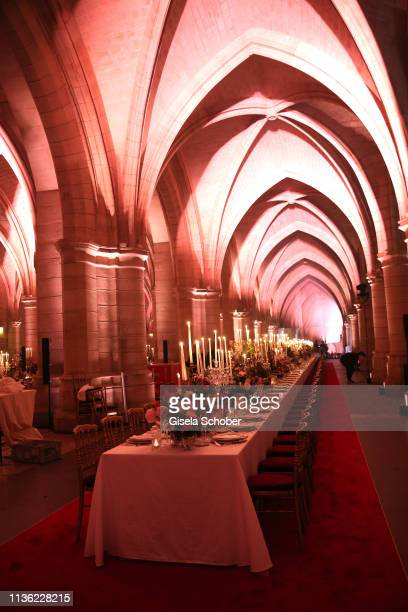 A general view during the Clash de Cartier event at la Conciergerie on April 10 2019 in Paris France