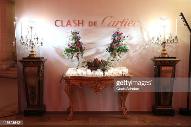 A general view during the Clash de Cartier event at la Conciergerie on April 10 2019 in Paris France