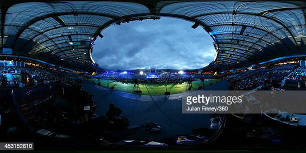 General view during the Closing Ceremony for the Glasgow 2014 Commonwealth Games at Hampden Park on August 3, 2014 in Glasgow, United Kingdom.