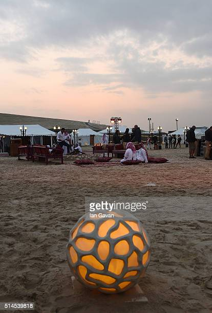 A general view during the Closing Night event at a desert camp on day six of Qumra the second edition of the industry event by the Doha Film...