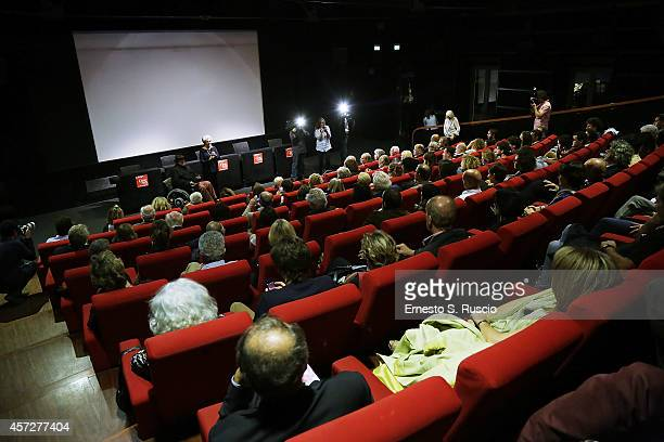 General view during the Cocktail Party as a part of the 9th Rome Film Festival at Casa del Cinema on October 15 2014 in Rome Italy