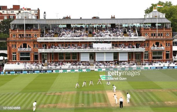 A general view during the day four of the Specsavers 2nd Test match between England and India at Lords Cricket Ground on August 12 2018 in London...