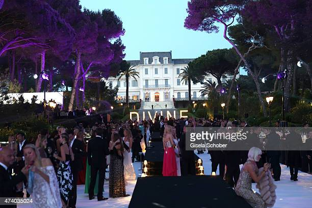 A general view during the De Grisogono party during the 68th annual Cannes Film Festival on May 19 2015 in Cap d'Antibes France