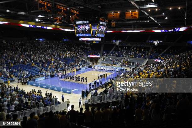 General view during the Division I Men's Volleyball Championship held at Pauley Pavilion on the UCLA campus in Los Angeles CA University of...